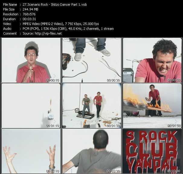 Scenario Rock - Skitzo Dancer Part 1