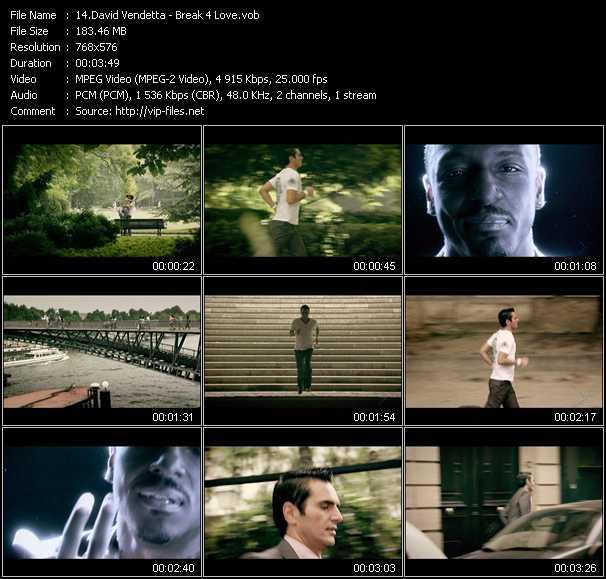 David Vendetta - Break 4 Love