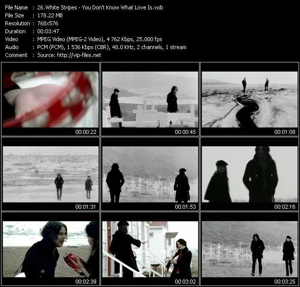 White Stripes - You Don't Know What Love Is