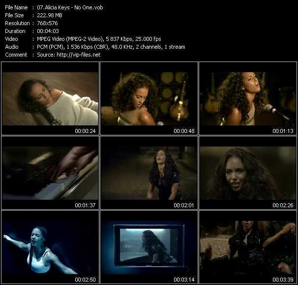 Alicia Keys - No One