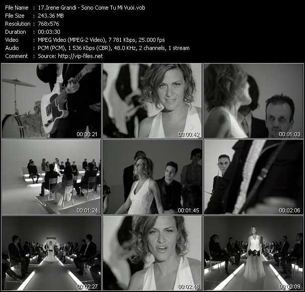 Irene Grandi - Sono Come Tu Mi Vuoi