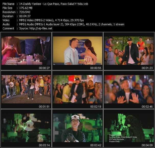 Daddy Yankee - Lo Que Paso, Paso - Salud Y Vida