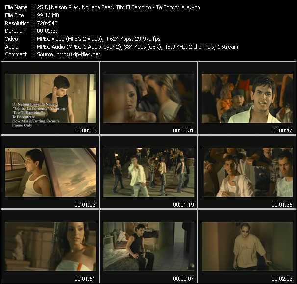 Dj Nelson Pres. Noriega Feat. Tito El Bambino - Te Encontrare