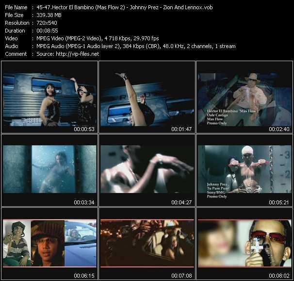 Hector El Bambino (Mas Flow 2) - Johnny Prez - Zion And Lennox - Dale Castigo - Tu Pum Pum - Doncella