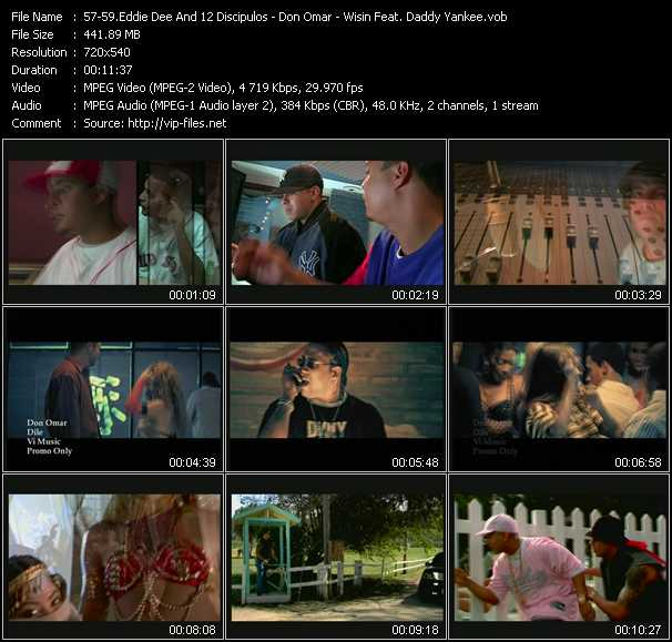 Eddie Dee And 12 Discipulos - Don Omar - Wisin Feat. Daddy Yankee - Quitate Tu Pa' Ponerme Yo - Dile - El Sobreviviente