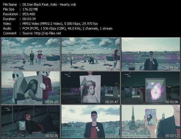 Dan Black Feat. Kelis - Hearts