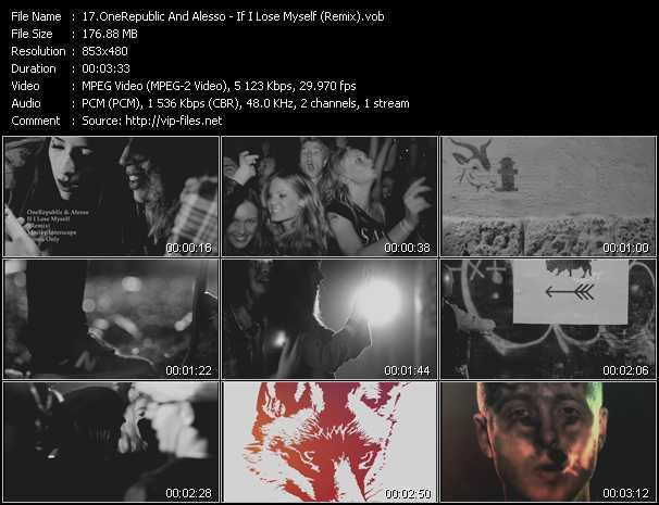 OneRepublic And Alesso - If I Lose Myself (Remix)