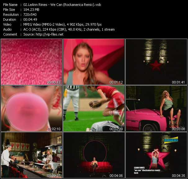 LeAnn Rimes - We Can (Rockamerica Remix)