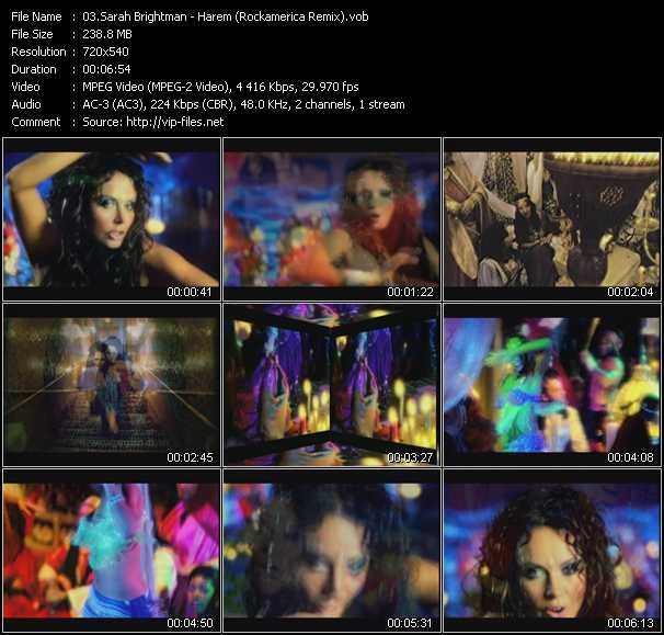 Sarah Brightman - Harem (Rockamerica Remix)