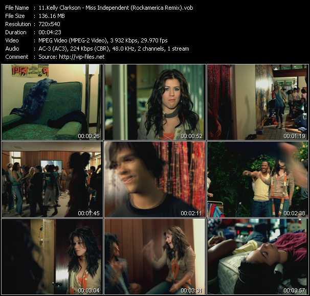 Kelly Clarkson - Miss Independent (Rockamerica Remix)