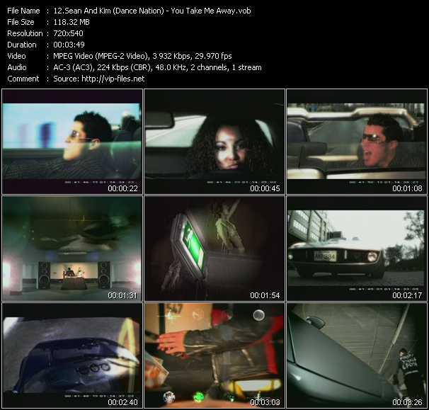 Sean And Kim (Dance Nation) - You Take Me Away
