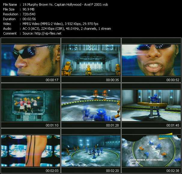 Murphy Brown Vs. Captain Hollywood - Axel F 2003