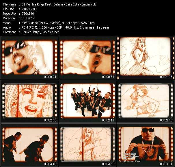 Kumbia Kings Feat. Selena - Baila Esta Kumbia