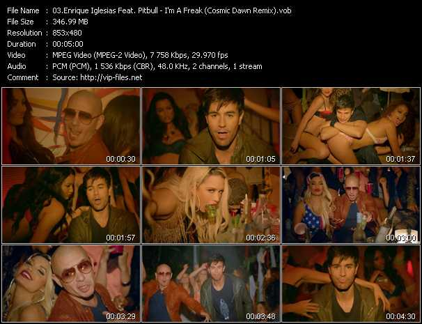 Enrique Iglesias Feat. Pitbull - I'm A Freak (Cosmic Dawn Remix) (Dirty Audio Version)