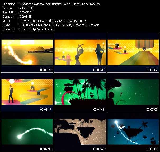 Simone Gigante Feat. Brinsley Forde - Shine Like A Star