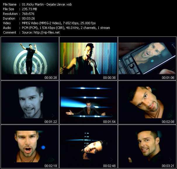 Ricky Martin - Dejate Llevar