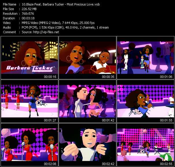Blaze Feat. Barbara Tucker - Most Precious Love