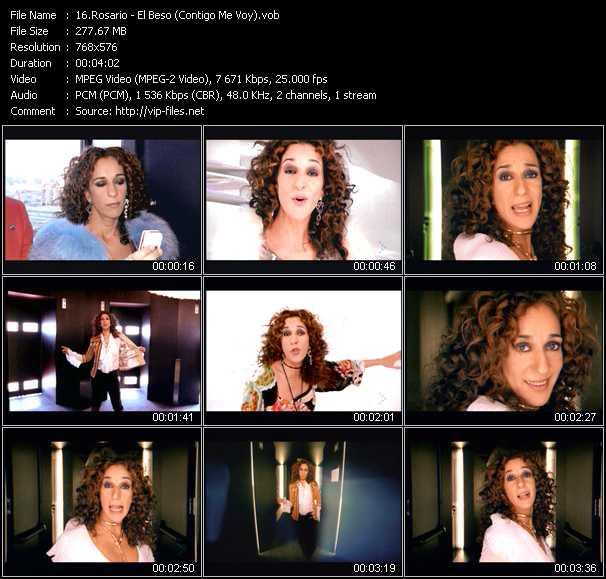 Rosario (Rosario Flores) - El Beso (Contigo Me Voy)