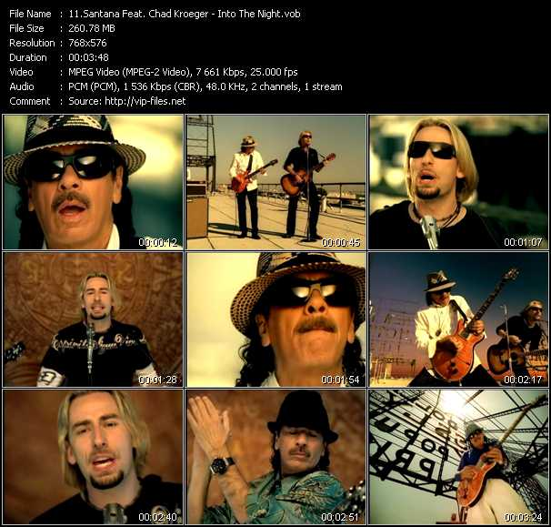 Santana Feat. Chad Kroeger - Into The Night