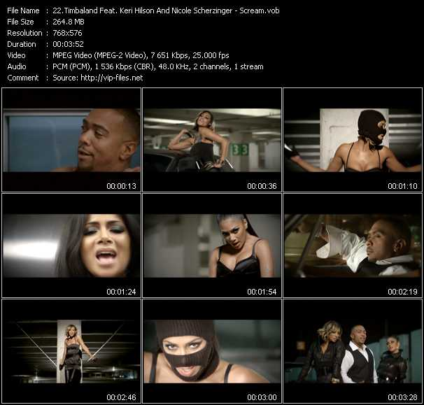 Timbaland Feat. Keri Hilson And Nicole Scherzinger - Scream