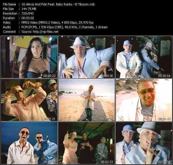 Alexis And Fido Feat. Baby Ranks - El Tiburon