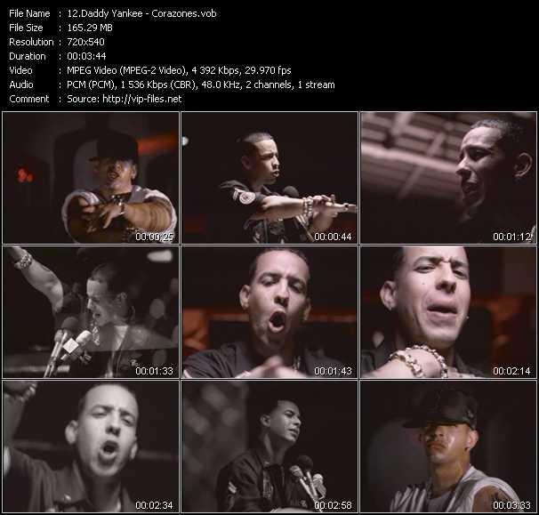 Daddy Yankee - Corazones