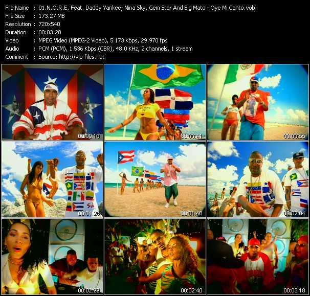 N.O.R.E. Feat. Daddy Yankee, Nina Sky, Gem Star And Big Mato - Oye Mi Canto