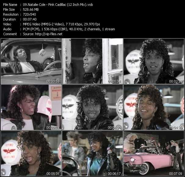 Natalie Cole - Pink Cadillac (12 Inch Mix)