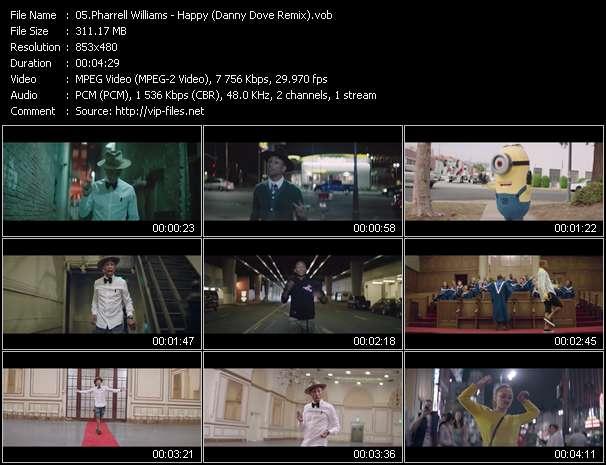 Pharrell Williams - Happy (Danny Dove Remix)