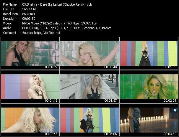 Shakira - Dare (La La La) (Chuckie Remix)