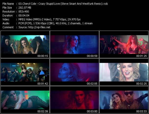 Cheryl Cole - Crazy Stupid Love (Steve Smart And Westfunk Remix)
