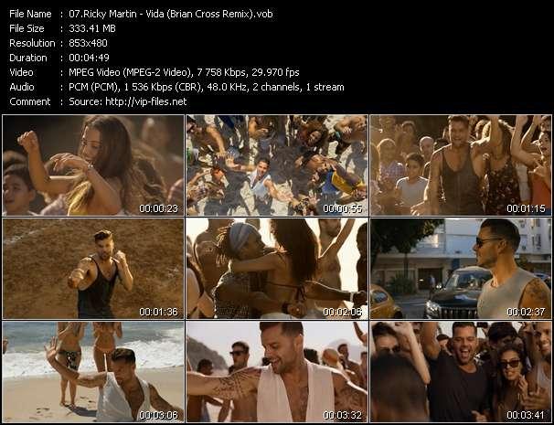 Ricky Martin - Vida (Brian Cross Remix)