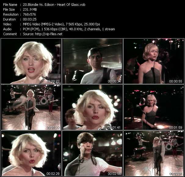Blondie Vs. Edison - Heart Of Glass
