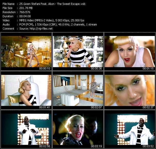 Gwen Stefani Feat. Akon - The Sweet Escape