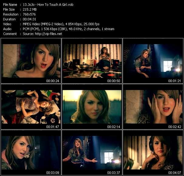 screenschot of JoJo video