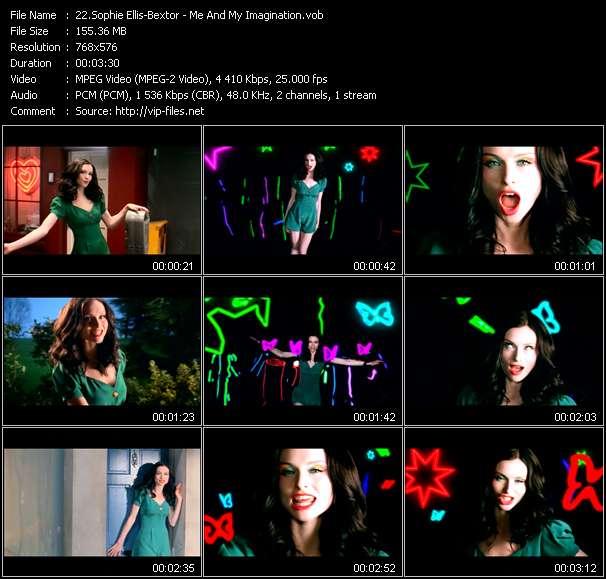 screenschot of Sophie Ellis-Bextor video