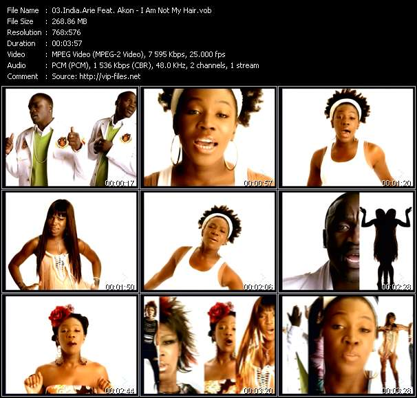India.Arie Feat. Akon - I Am Not My Hair