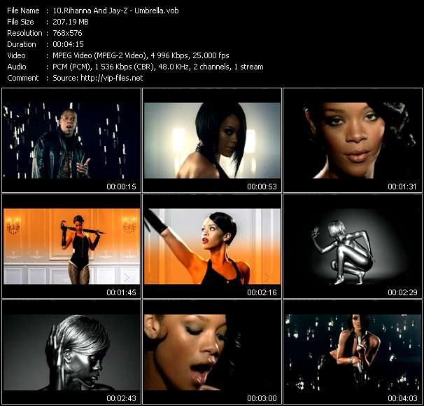 Rihanna And Jay-Z - Umbrella