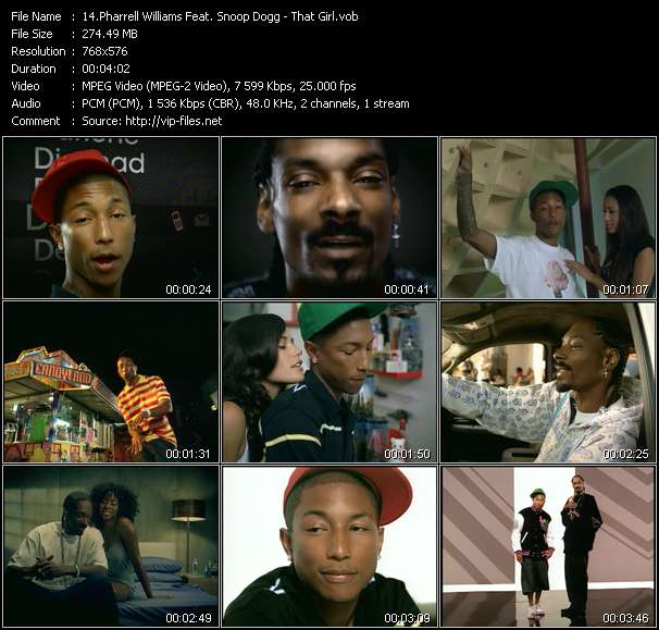 Pharrell Williams Feat. Snoop Dogg - That Girl