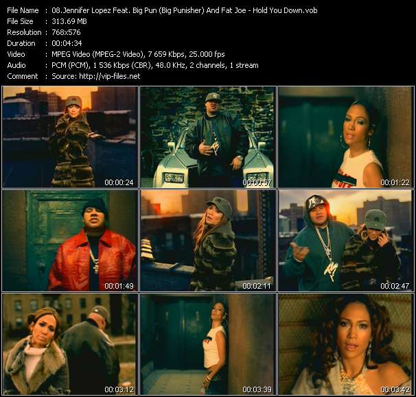 Jennifer Lopez Feat. Big Pun (Big Punisher) And Fat Joe - Hold You Down