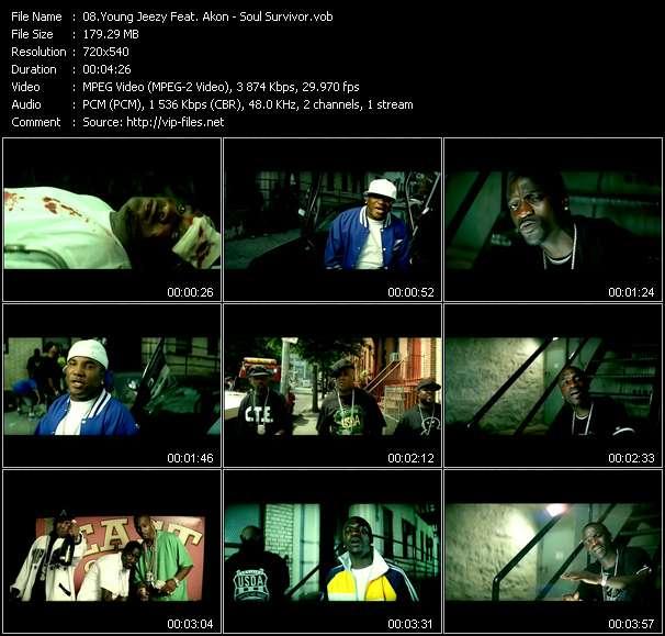 Young Jeezy Feat. Akon - Soul Survivor