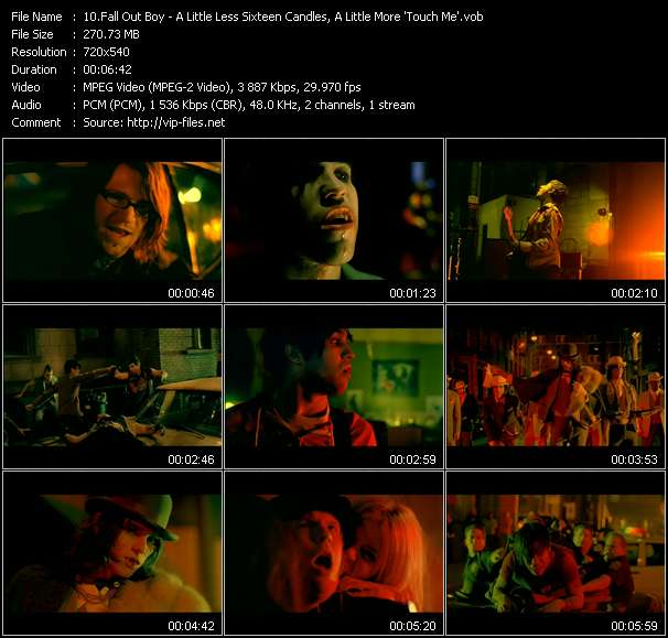 Fall Out Boy - A Little Less Sixteen Candles, A Little More 'Touch Me'