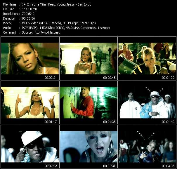 Christina Milian Feat. Young Jeezy - Say I
