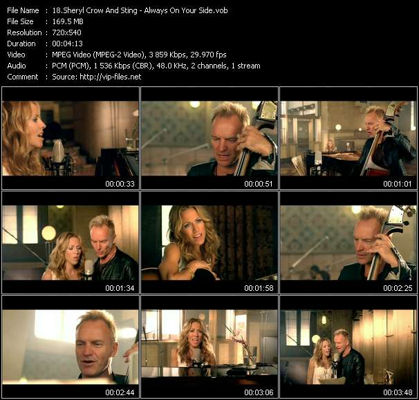 Sheryl Crow And Sting - Always On Your Side