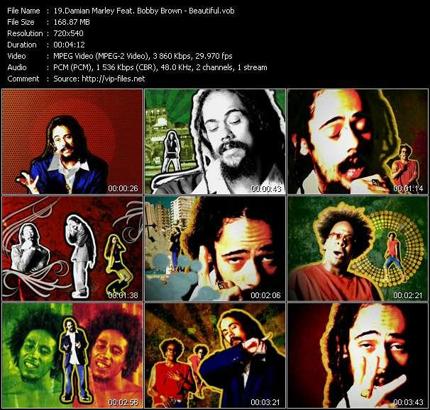 Damian Marley Feat. Bobby Brown - Beautiful