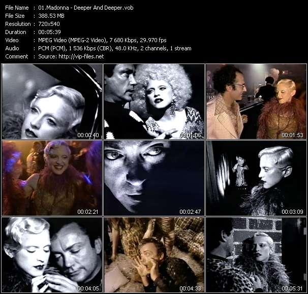 Madonna - Deeper And Deeper