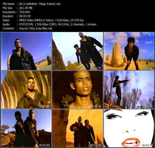 2 Unlimited - Magic Friend
