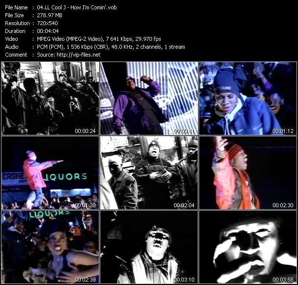 LL Cool J - How I'm Comin'