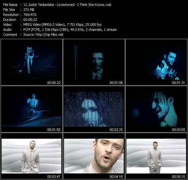 Justin Timberlake - Lovestoned - I Think She Knows