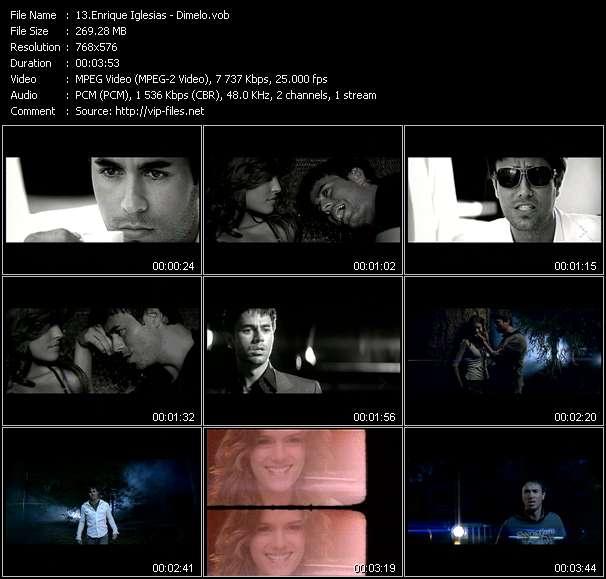 Enrique Iglesias - Dimelo